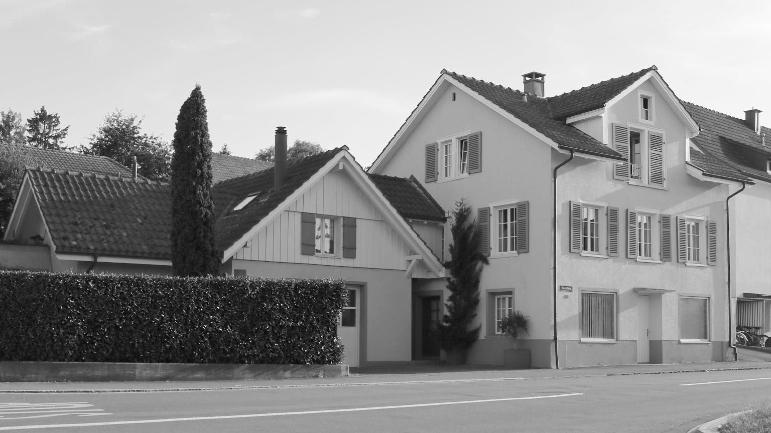 Erweiterung und Umbau Wohnhaus in Amriswil