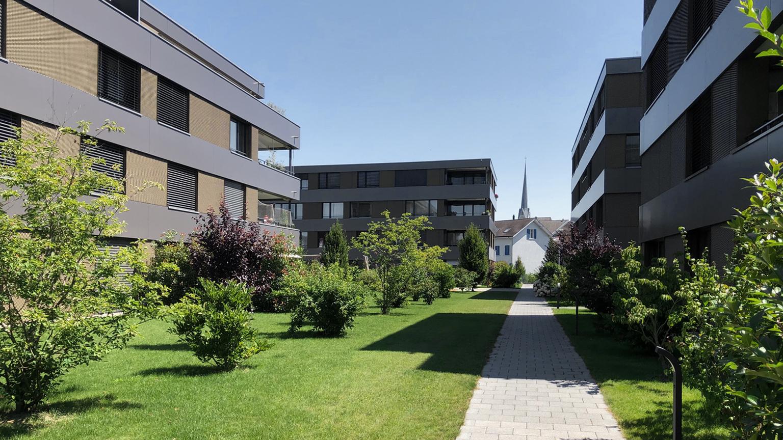 Wohnüberbauung Quellenhof Amriswil